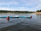 SUP in Tittesworth Reservoir