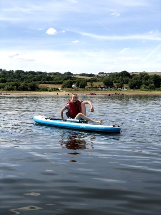 SUP on Tittesworth Reservoir